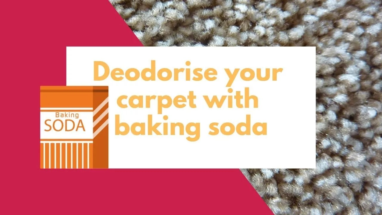 How to deodorise your carpet with baking soda