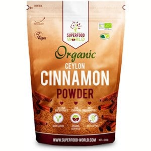 Organic True Ceylon Cinnamon Powder 300g