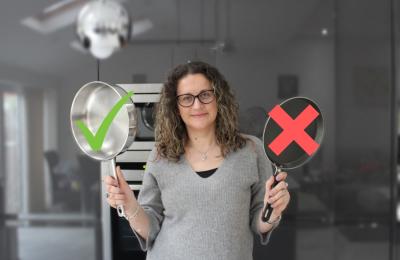 Защо избягвам готварски принадлежности и тигани с незалепващо покритие