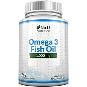 Nu U Nutrition Omega3 Fish Oil