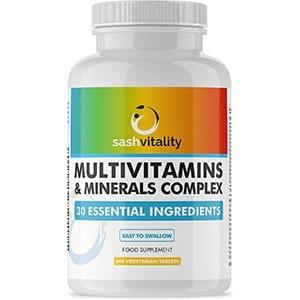 Sashvitality Multivitamins Minerals