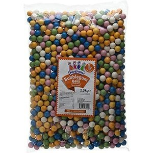 Kingsway Bubble Gum Balls Bag