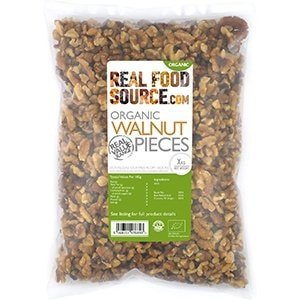 Realfoodsource Certified Organic Walnut Pieces
