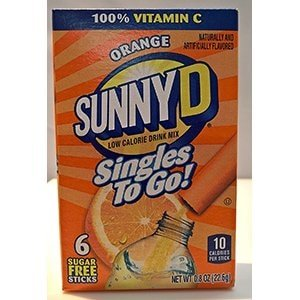 Sunny D Orange Drink Mix
