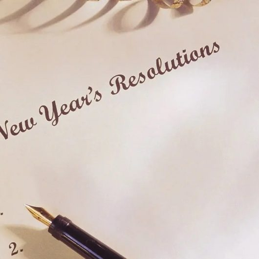 The Ideal New Year Resolution